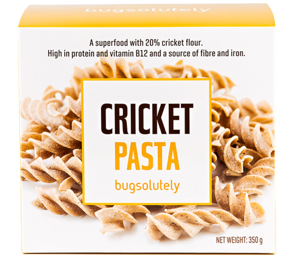 cricket pasta package